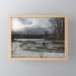An Intricate Landscape Framed Mini Art Print