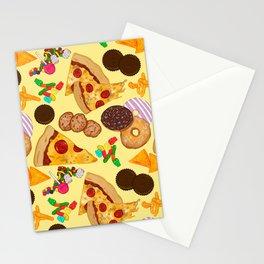 Snacks on Snacks Stationery Cards