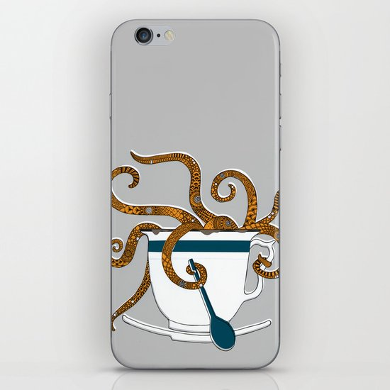 Octopus in a Teacup iPhone & iPod Skin