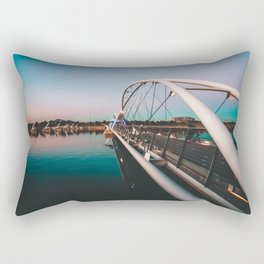 Tempe Lake Bridge Arizona Rectangular Pillow