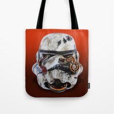 snake and stormtrooper Tote Bag
