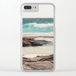 Watching the Waves Roll In Clear iPhone Case