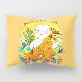 The Buddhist Monk Pillow Sham