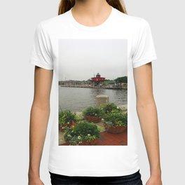 Seven Foot Knoll Light - Baltimore Inner Harbor T-shirt
