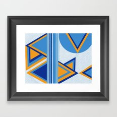 Measures out of control Framed Art Print