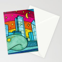 Cloud Gate in Chicago, Illinois Stationery Cards