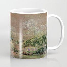 English Garden Sunset Coffee Mug