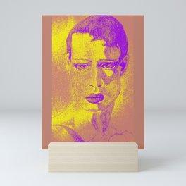 secondary colors raw Mini Art Print