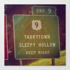 Sleepy Hollow Canvas Print