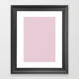 Queen pink Framed Art Print