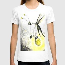 Overworked Lightening Bug T-shirt