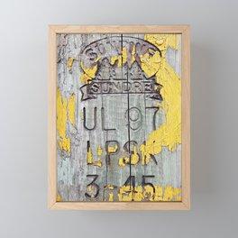 All and Sundry Framed Mini Art Print