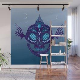 Zora Sugar Skull Wall Mural