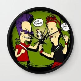 Beavop and Rockhead Wall Clock