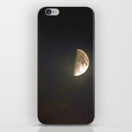 """""""Half-Moon #26"""" with poem: More Than Brilliant iPhone Skin"""