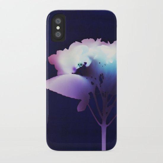Photogram - Hydrangea II iPhone Case