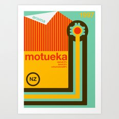 motueka single hop Art Print