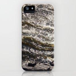 Torrent river iPhone Case