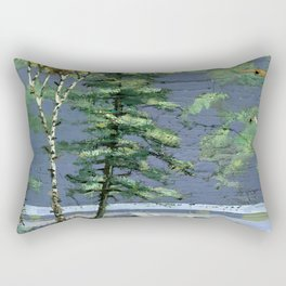 eagle's nest Rectangular Pillow