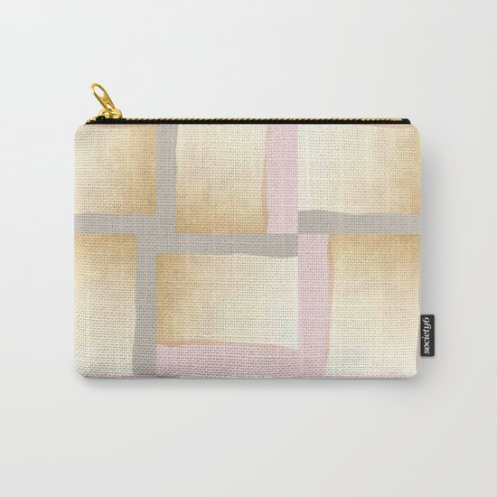 Pastels + Gold #society6 #decor #buyart Carry-All Pouch