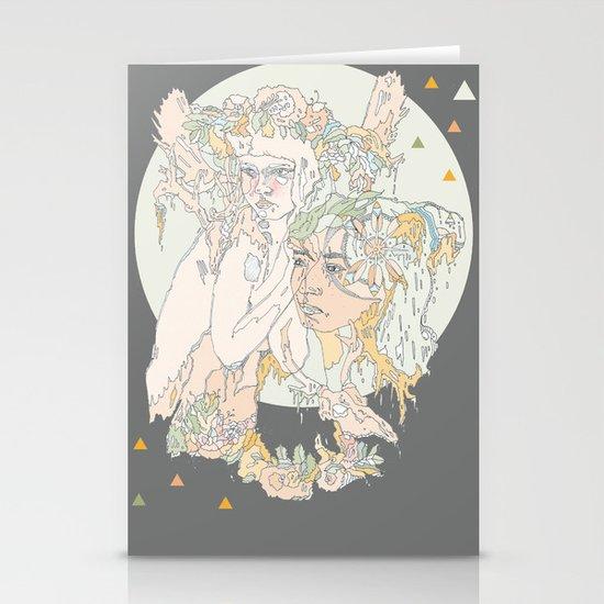 adorned pop Stationery Cards