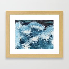 On Another Wave Framed Art Print