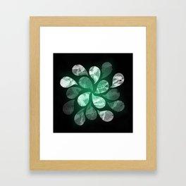 Abstract Water Drops XXX Framed Art Print