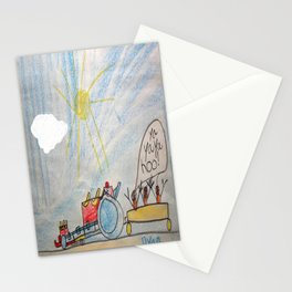 Race Tractor Ride Stationery Cards