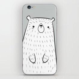 hello little bear iPhone Skin
