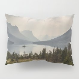 Panoramic Landscape Mountains & Lake Pillow Sham