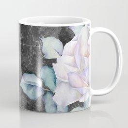 Winter Snow Roses Coffee Mug