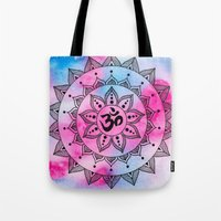 ohm Tote Bags featuring Ohm by Frida Glans