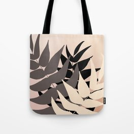 Boho Leaves Tote Bag