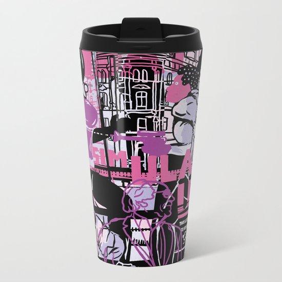 Simulacrum Metal Travel Mug