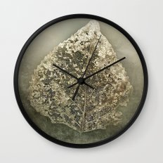 Old gold Wall Clock