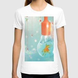 Ideas and Goldfish ... T-shirt
