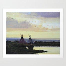 The Salt River Art Print