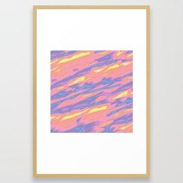 Love's Messy Framed Art Print