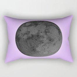 BLACK MOON + LAVENDER SKY Rectangular Pillow