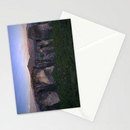 Meteora at sunrise Stationery Cards