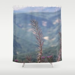 Needles Fading Shower Curtain