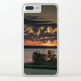 Morning Colors Clear iPhone Case