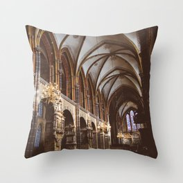 Bremen Cathedral  Throw Pillow