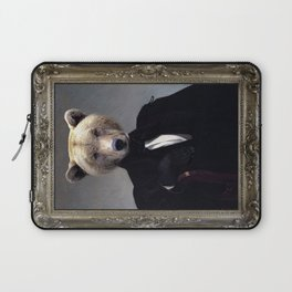Monsieur Grizzly Laptop Sleeve