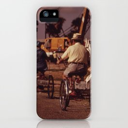 Tricycle Club iPhone Case