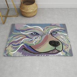 Husky in Denim Colors Rug