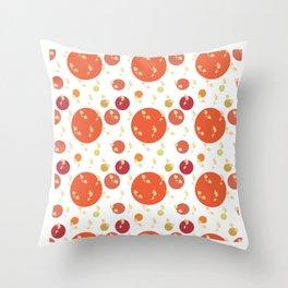 Spheric Flora Throw Pillow