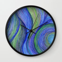 COOL Color Blend Wall Clock