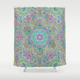 felice dia Shower Curtain