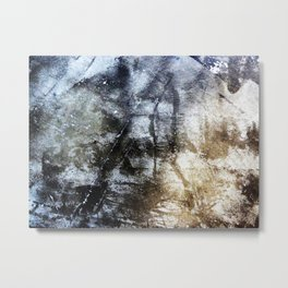 Scar Tissue Metal Print